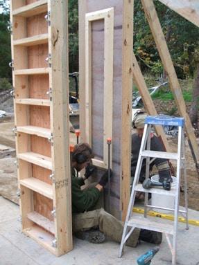 Gary S Garage Building It Clifton Schooley Rammed