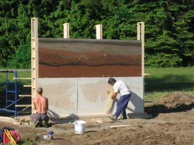 removing-rammed-earth-forms