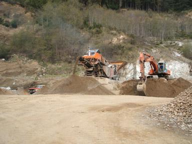 gravel-pit