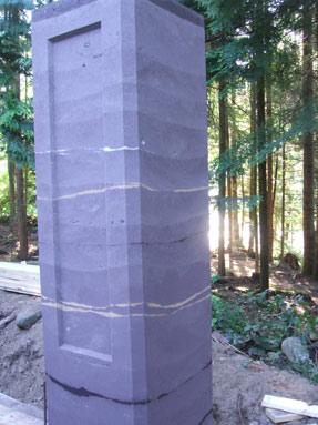 rammed-earth-pillar-brown