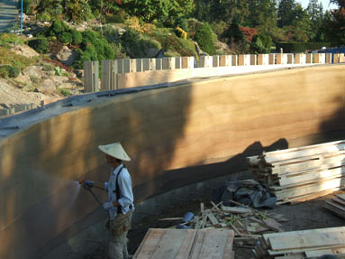 spraying-rammed-earth-wall
