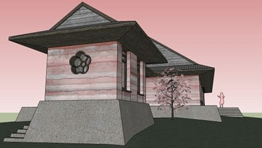 Sakura-house-south-west-view