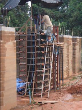 making wall