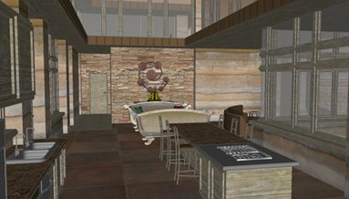 Kitchen-living-room