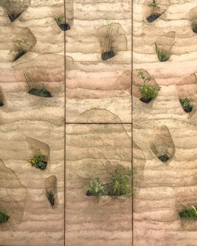 rammed earth panels Schooley 2